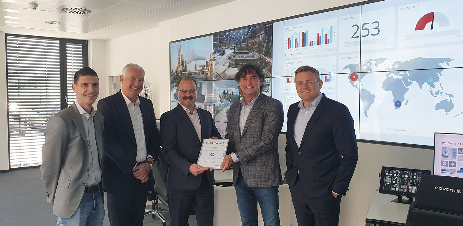 Samenwerking Nsecure Advancis Software WinGuard